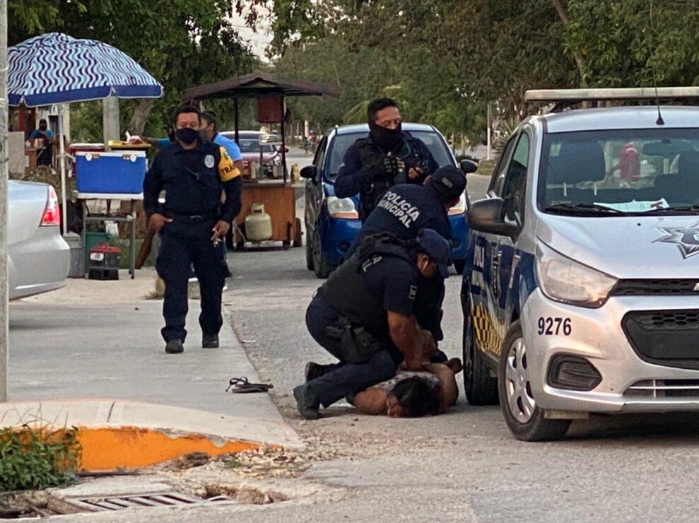 Video: Brutalidad policiaca deriva en la muerte de una mujer en Tulum.