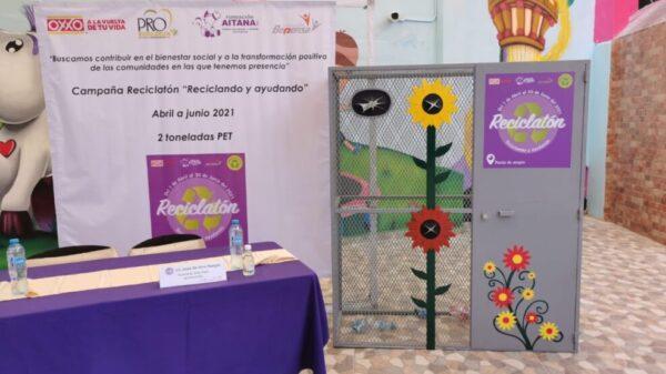 Anuncia Fundación Aitana campaña de reciclaje con causa.