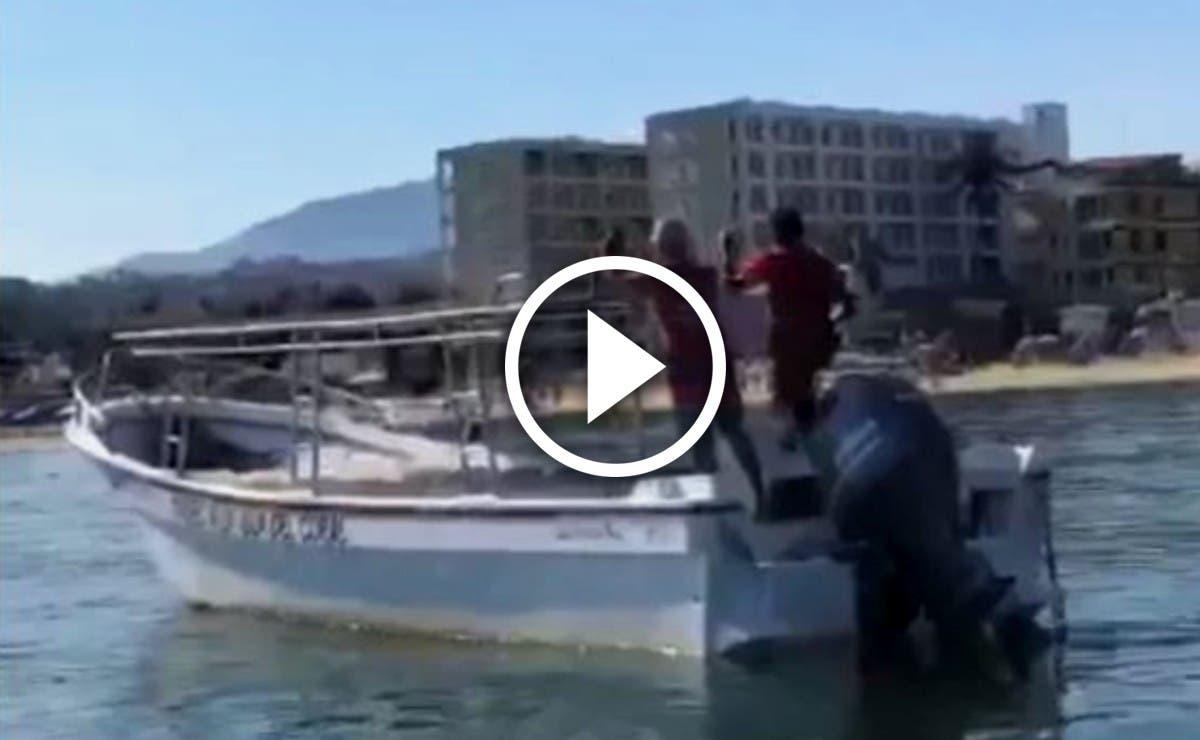 Se registra enfrentamiento armado entre Guardia Nacional y Civiles en Playa de Guayabitos (Video)