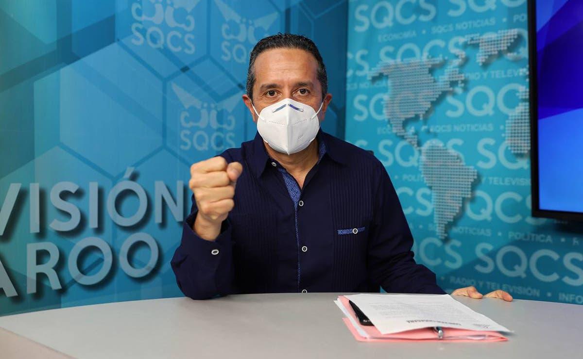 Quintana Roo se mantiene en un descenso en el número de casos por Covid-19: Carlos Joaquín
