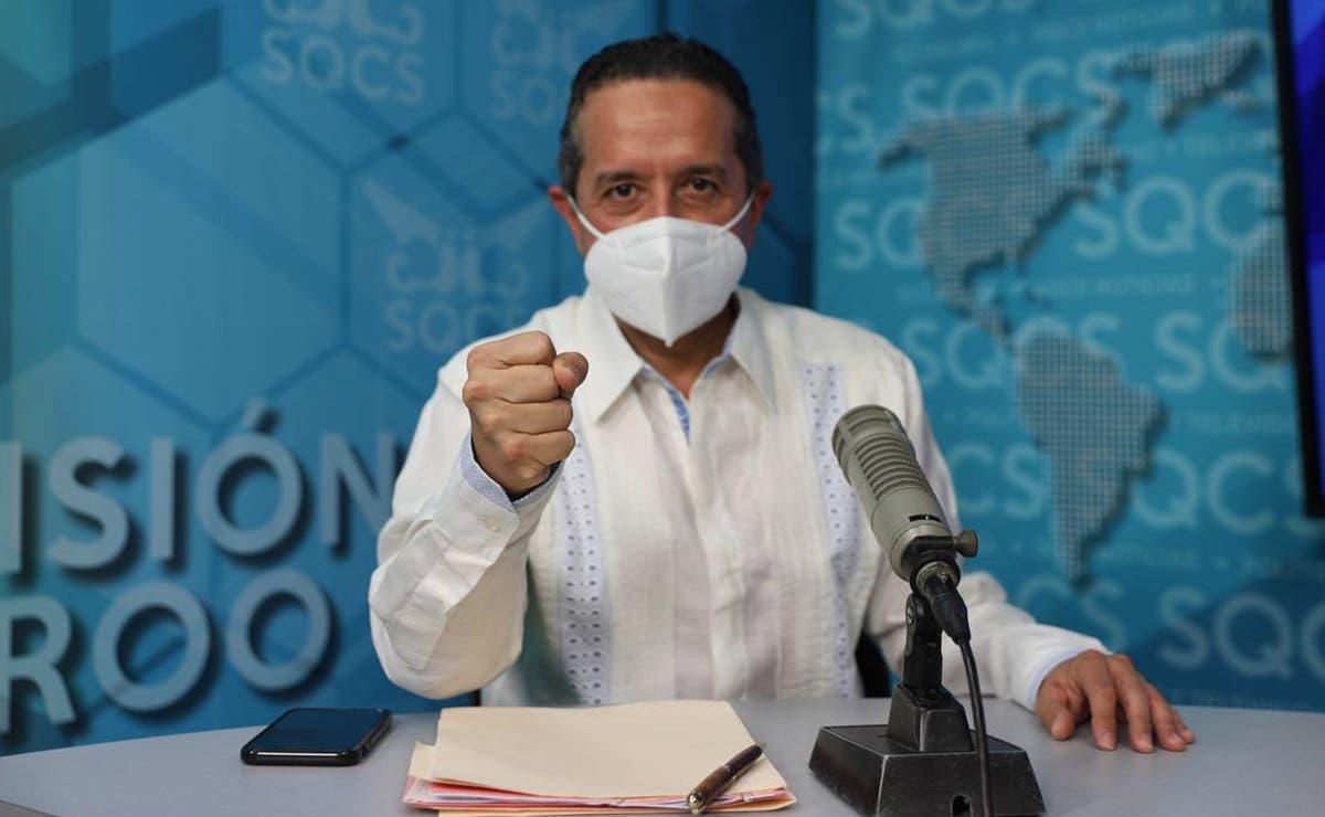 En Quintana Roo vamos al 23% de adultos mayores vacunados contra COVID-19: Carlos Joaquín