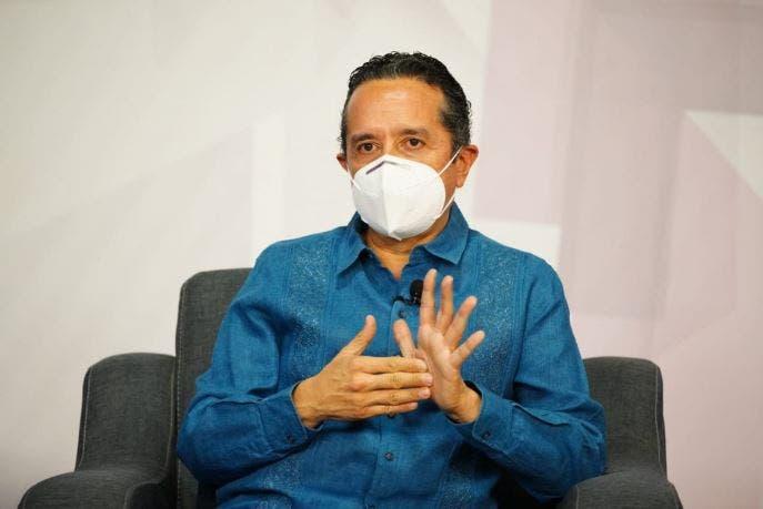 Quintana Roo registra un franco descenso en la curva de contagios por Covid-19: Carlos Joaquín