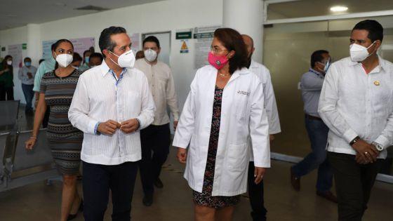 Quintana Roo lleva un avance acumulado de 25 mil 236 dosis aplicadas contra la covid-19: Carlos Joaquín