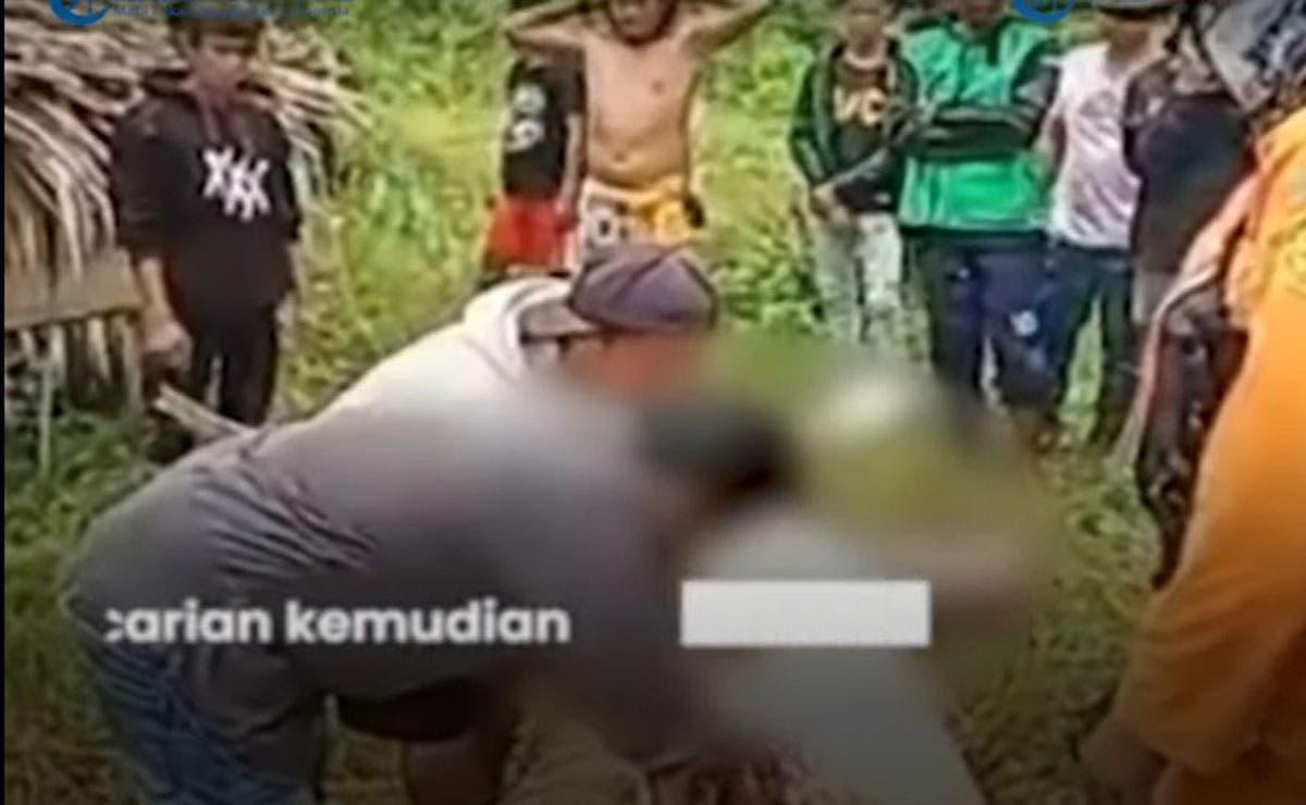 Un video que muestra imágenes sobrecogedoras sobre la muerte de un niño en Indonesia se viralizan en redes sociales