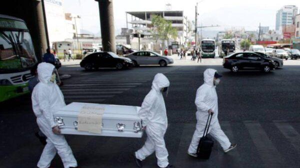 Ya son 199 mil 627 muertos por coronavirus en México