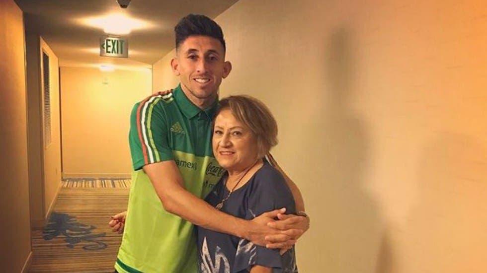 Fallece mamá de Héctor Herrera por covid-19