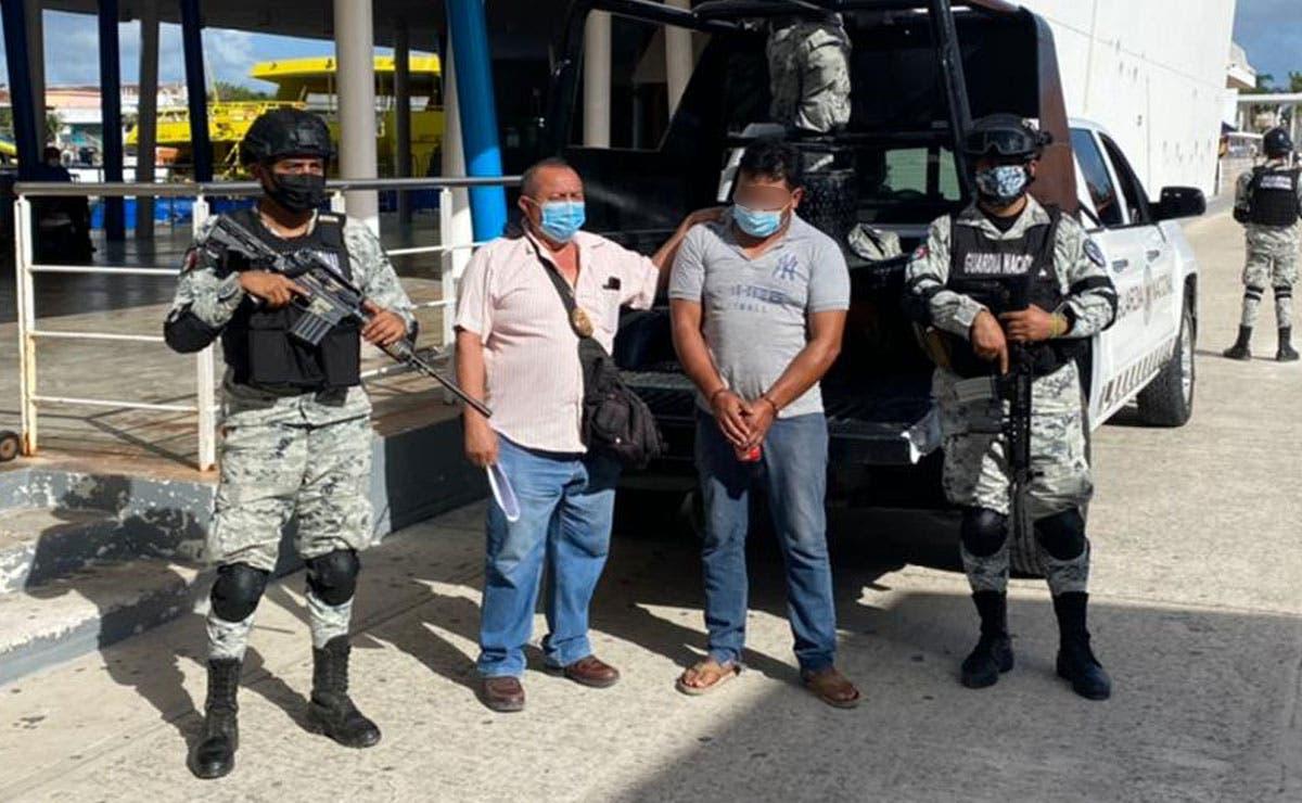 Detiene FGE a presunto homicida que se ocultaba en Cozumel