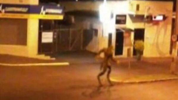 Las historias sobre Ovnis generan reacciones encontradas entre los creyentes y los escépticos, ahora la imagen de un humanoide captada en Brasil se viraliza