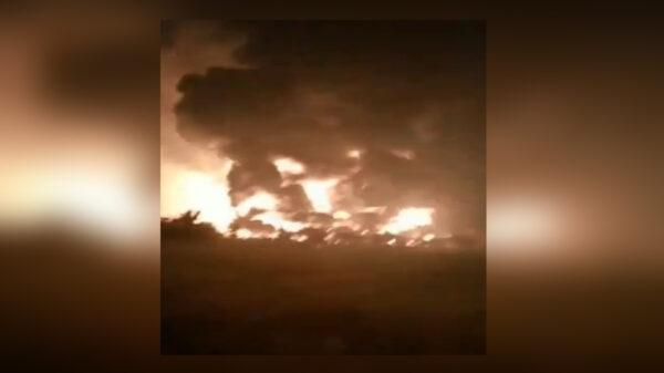 Un devastador incendio se registró este domingo en las instalaciones de una refinería de petróleo en Indonesia