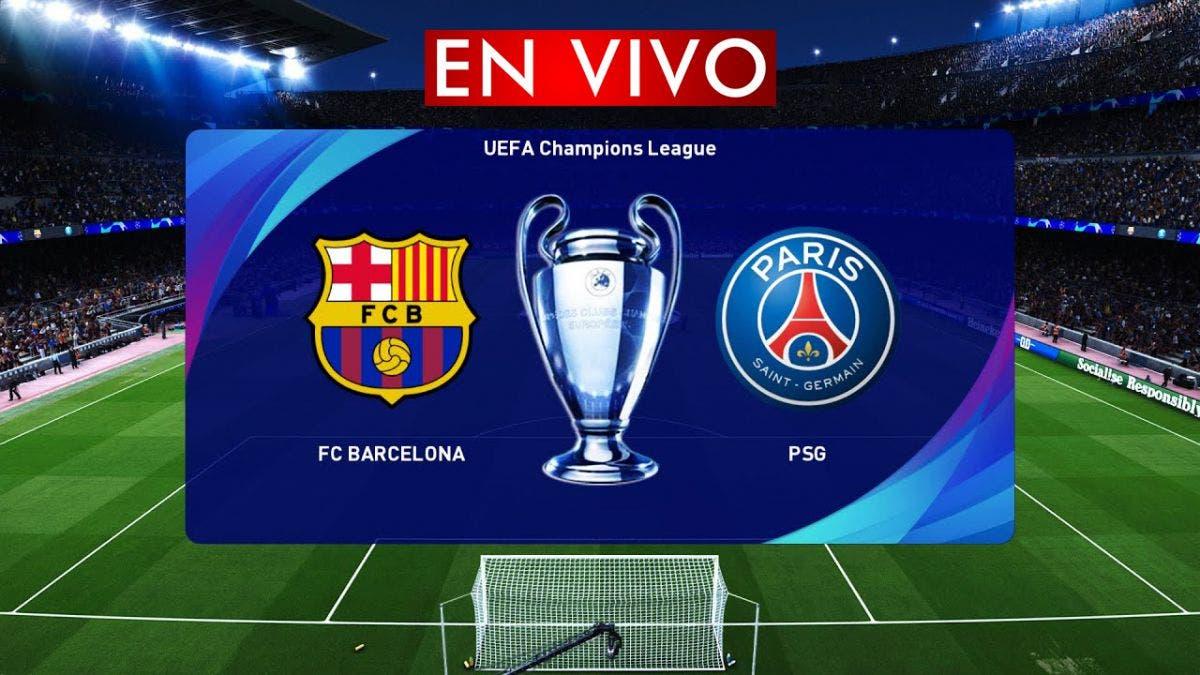 Champions League: PSG vs Barcelona vuelta EN VIVO