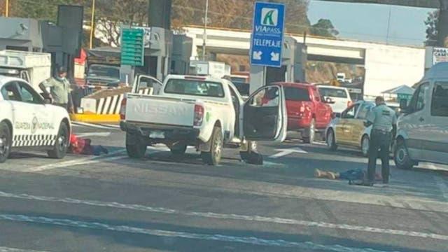 Video: Guardias nacionales abaten a delincuente en autopista Silgo XXI.