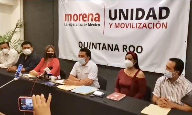 Definirá Morena Quintana Roo candidaturas hasta el último día.