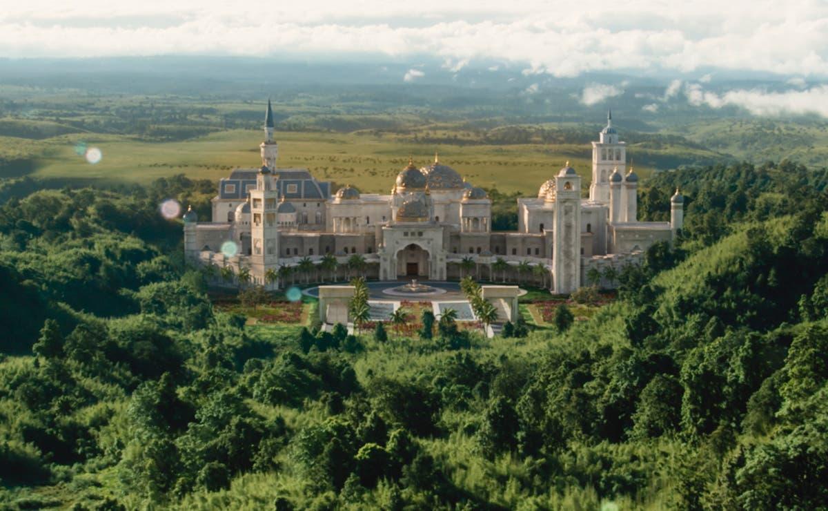 Palacio de Zamunda en la nueva película Un Príncipe en Nueva York 2
