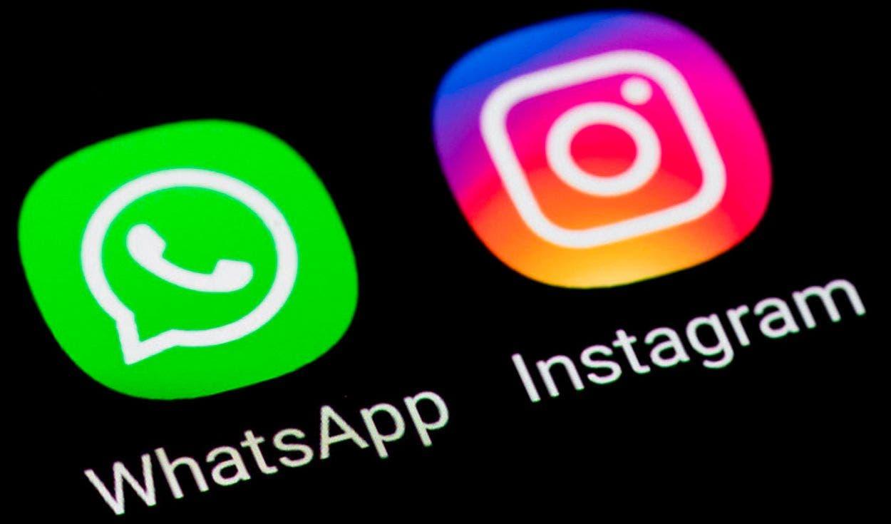 Reportan usuarios la caída de WhatsApp e Instagram.