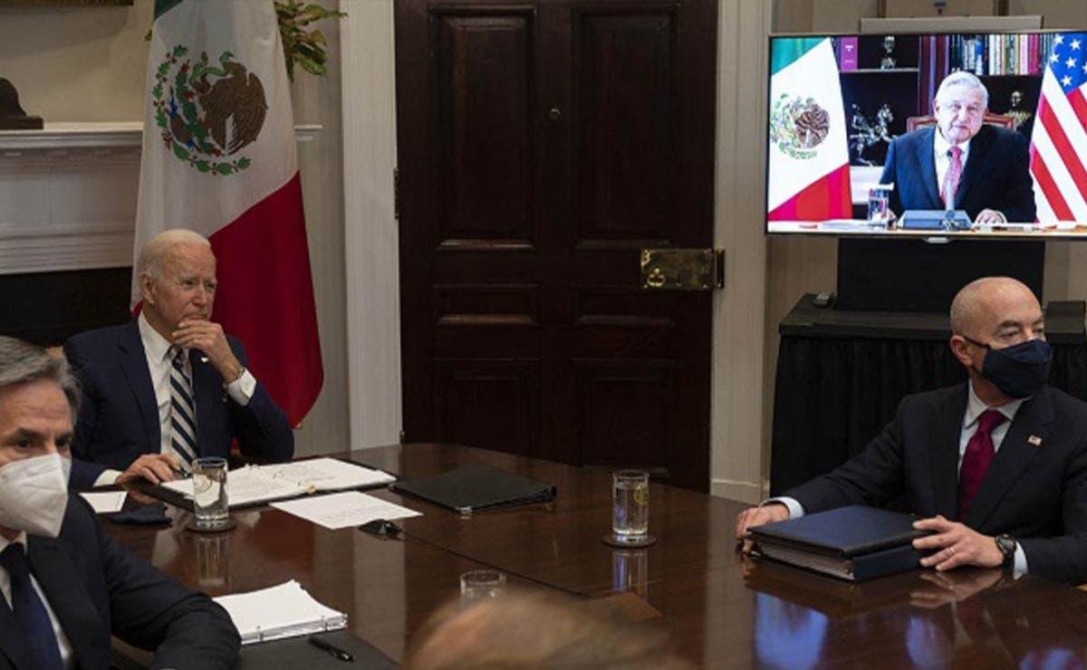 """Estados Unidos y México son """"más fuertes"""" juntos: Biden"""