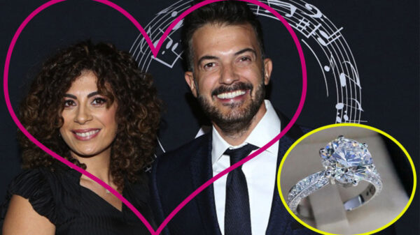 Fernando del Solar le propone matrimonio a su novia Anna Ferro