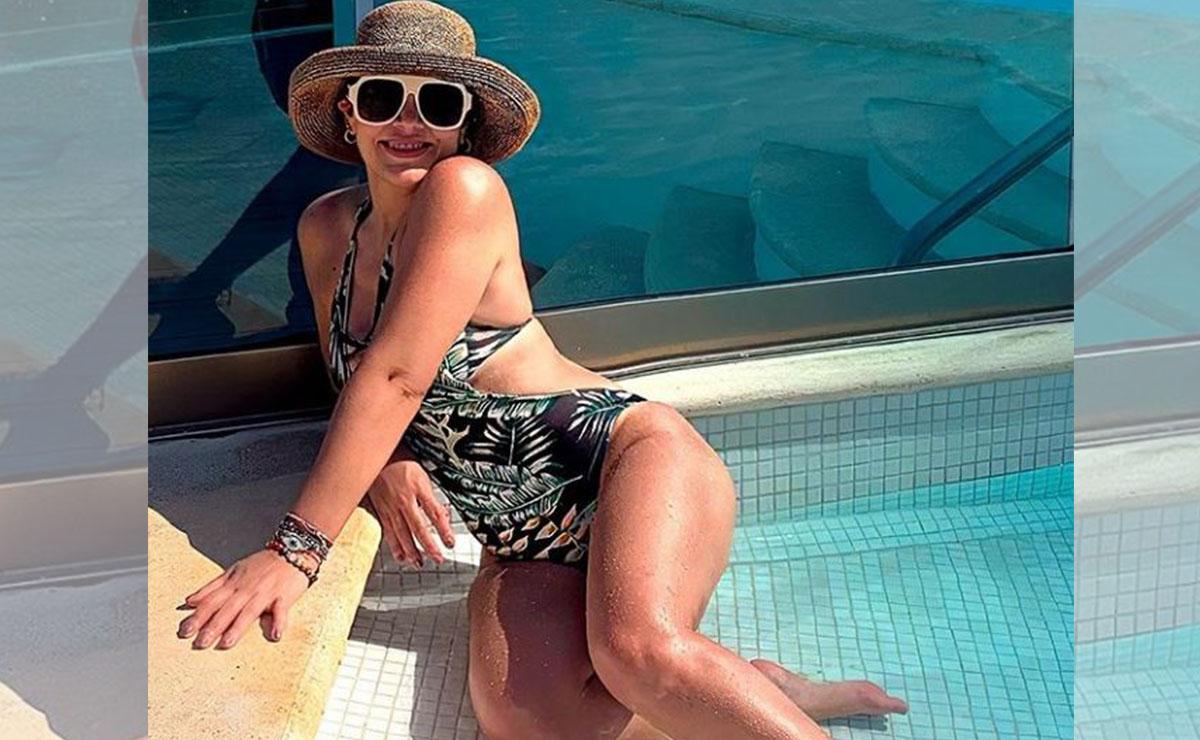 Tras posar en bikini, Tatiana responde a quienes la critican por su edad