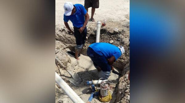 Ampliación de red dejó sin agua potable a habitantes de San Ángel.