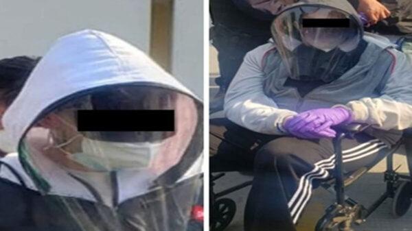 Se disfrazan de abuelitos para ser vacunados; los 'cachan'