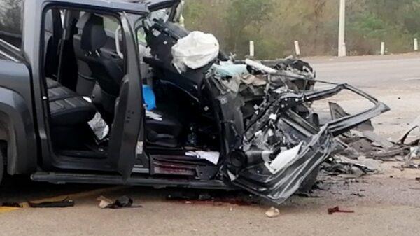 Choque en la carretera federal Mérida-Campeche deja una lesionada de gravedad