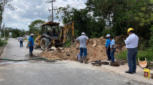 Se quedan sin agua potable 7 colonias de Felipe Carrillo Puerto