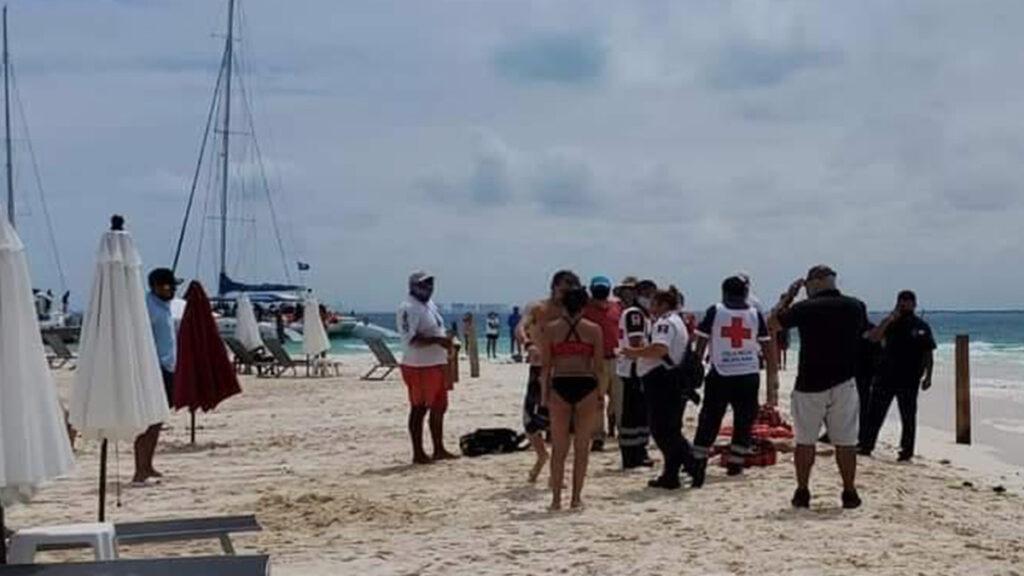 Muere ahogado menor de edad en Isla Mujeres