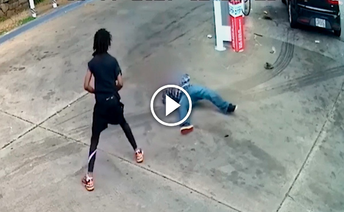 Abuelito de 82 años enfrenta a ladrón que intentaba robarle su auto (Video)