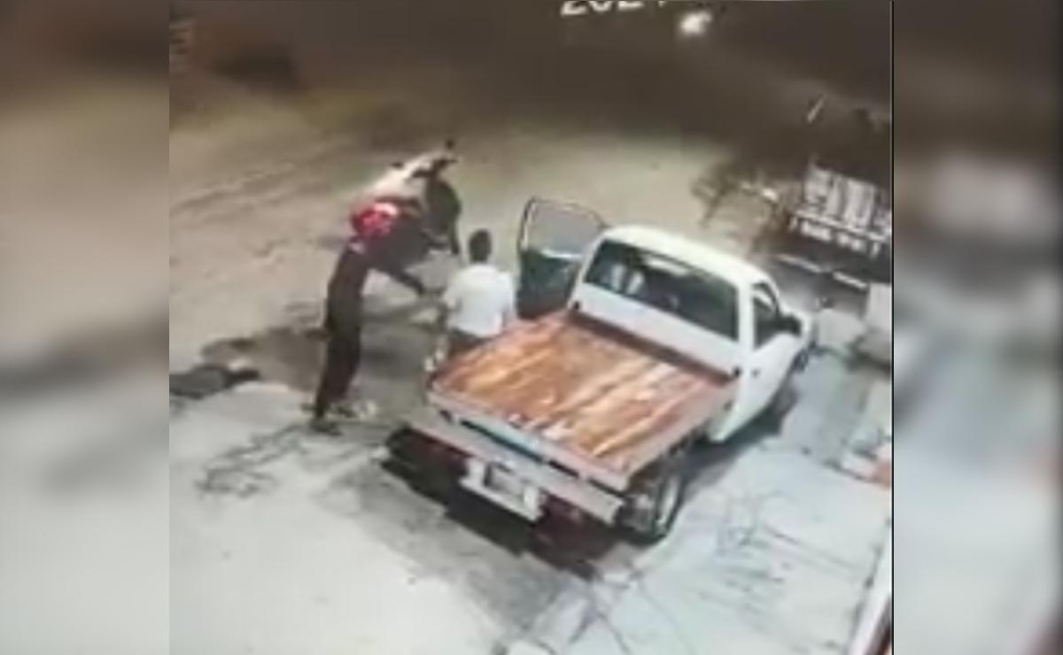 Video: Ladrones asaltan a comerciante y se llevan cuantioso botín