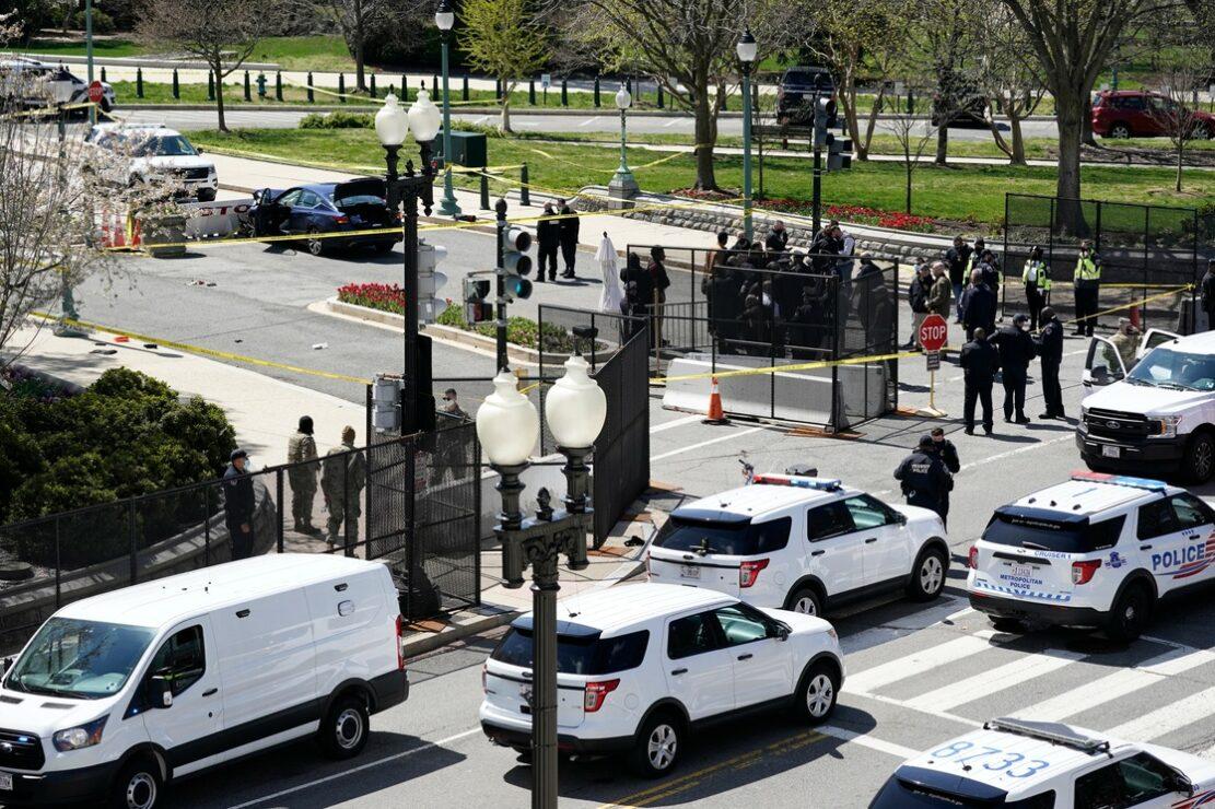 Nuevo ataque al Capitolio en EU; 2 muertos, un policía y el atacante