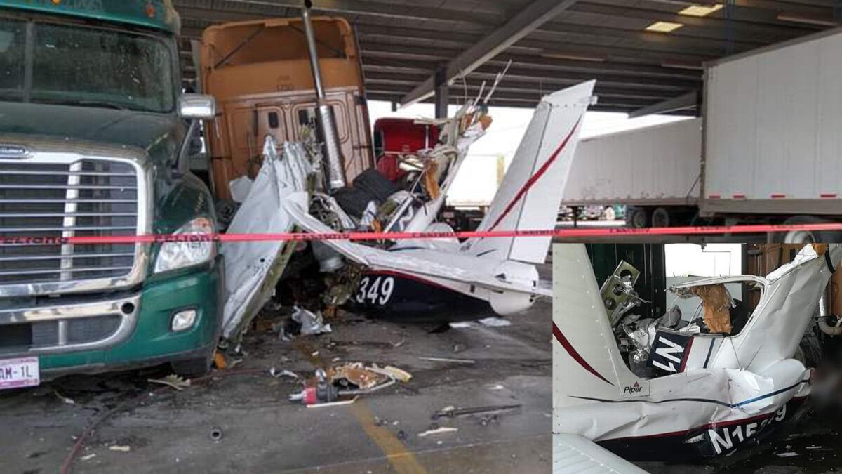Se desploma avioneta en Nuevo León y mueren seis personas