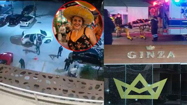 Fallece brasileña herida en ataque a bar Ginza de Cancún.