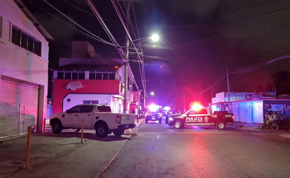 Cancún: En asalto, lesionan a un hombre con disparo en el cuello