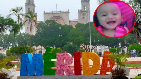 Piden ayuda para localizar a bebé de 10 meses desaparecido en Mérida