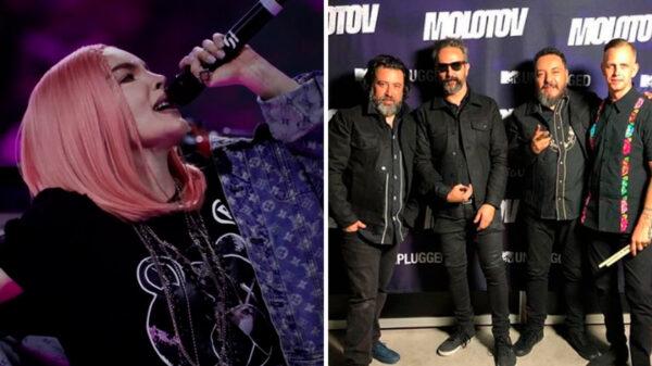 Belinda reta a Molotov a cantar 'Amor a primera vista'