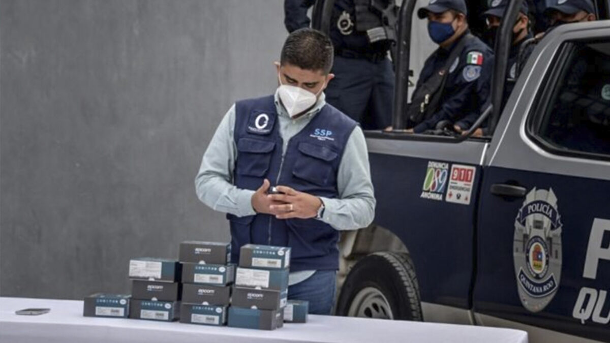 Instalarán cámaras corporales a policías de Tulum