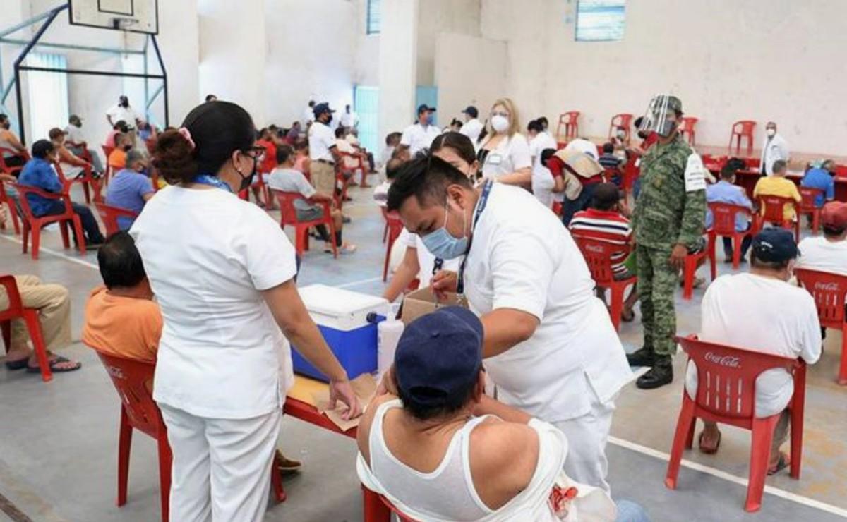 Vacunas contra covid-19 ya fueron aplicadas a adultos mayores de Ceresos de Yucatán
