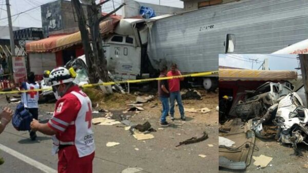 Cuatro muertos deja fuerte accidente en la México-Toluca