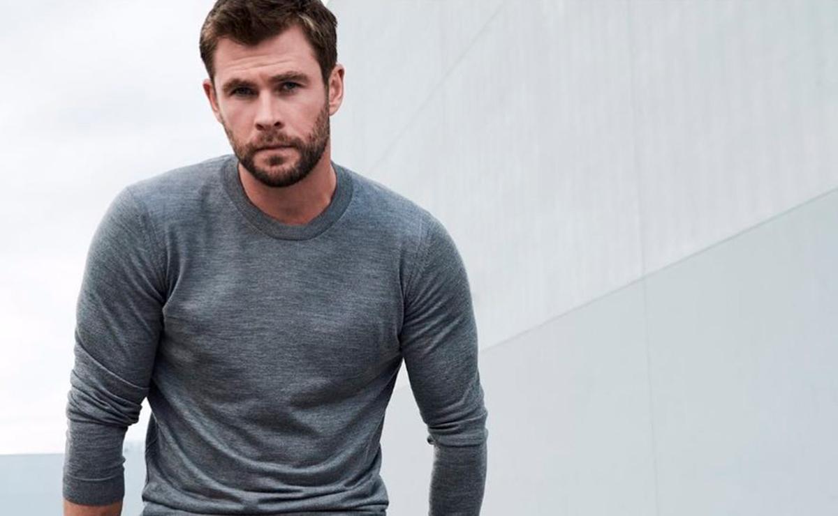 """Chris Hemsworth deja a un lado a """"Thor gordo"""" y presenta su nuevo look"""