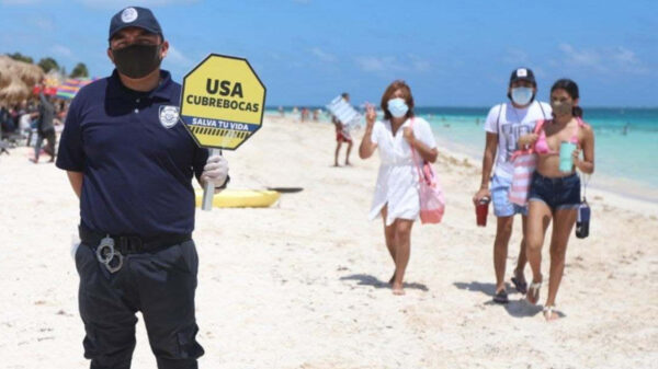 Reiteran llamado a redoblar esfuerzos contra la pandemia de covid-19 en Puerto Morelos