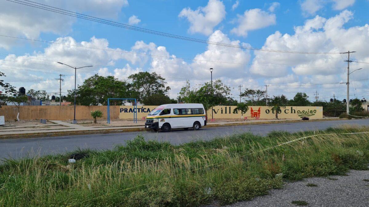 Cancún: Cumplen amenaza contra Maya Caribe, balean una combi