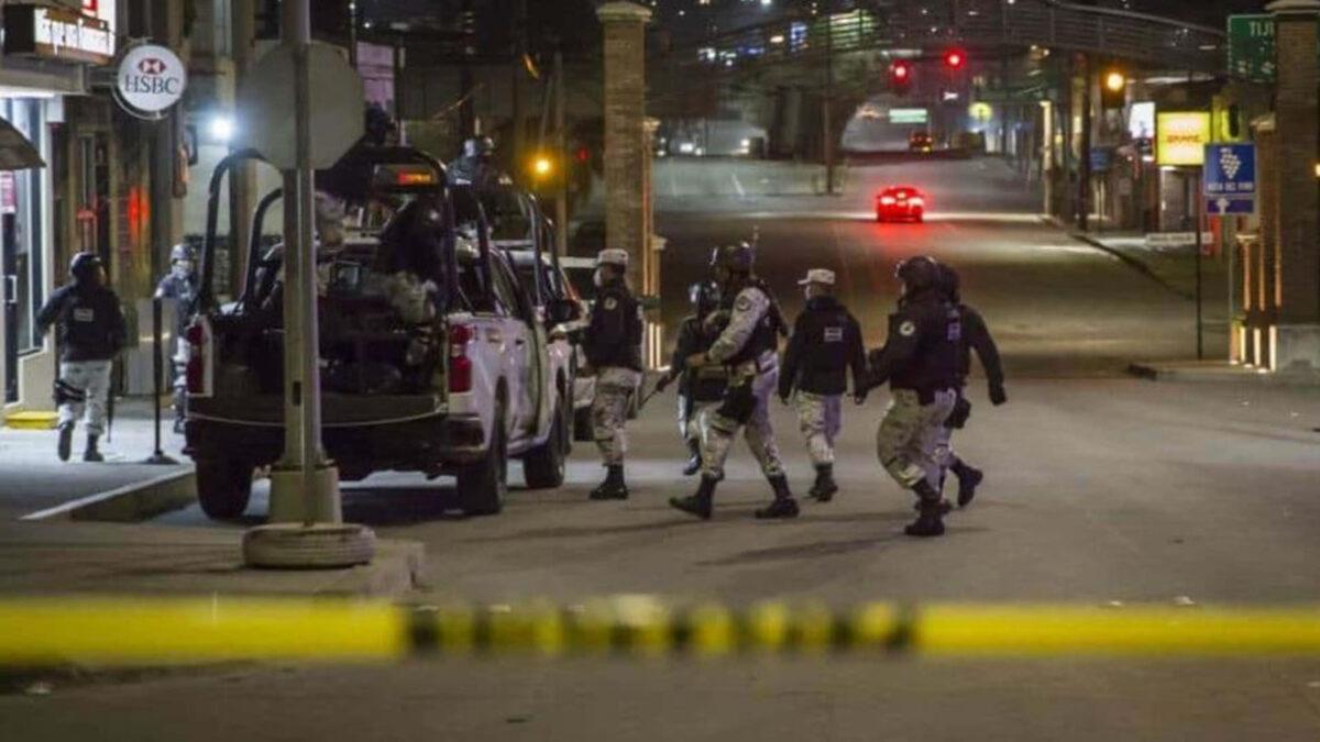 Guardia Nacional localiza 5 cuerpos atados de pies y manos en Sonora