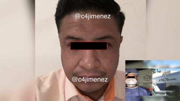Empleado del ISSSTE viola a mujer hospitalizada por Covid-19