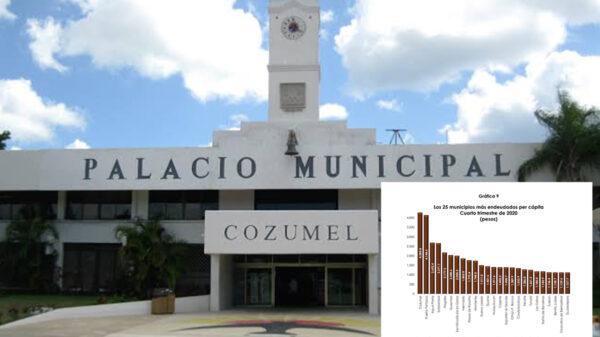 Cozumel ostenta la mayor deuda per capita en todo el país