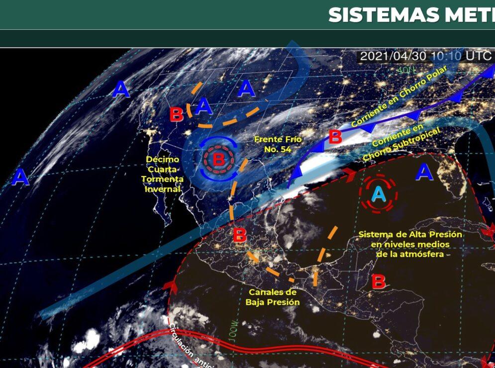 Pronóstico del tiempo para hoy viernes 30 de abril en Quintana Roo.