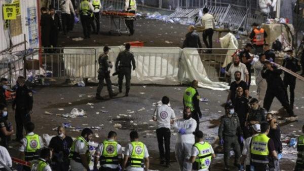 Estampida deja 38 muerto y más de 100 heridos, en Israel