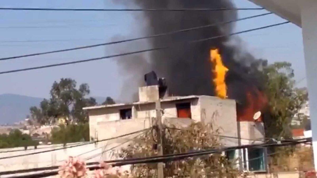 Se registra explosión en un domicilio en Ciudad de México