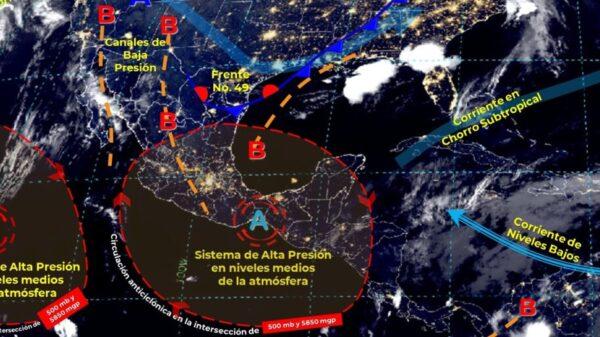 Pronóstico del clima para hoy domingo Quintana Roo.