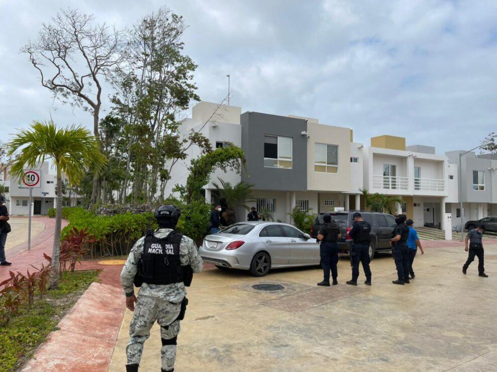 En Puerto Morelos catean casa de Tirso Esquivel relacionado en la ejecución de 'Nacho' Sánchez.