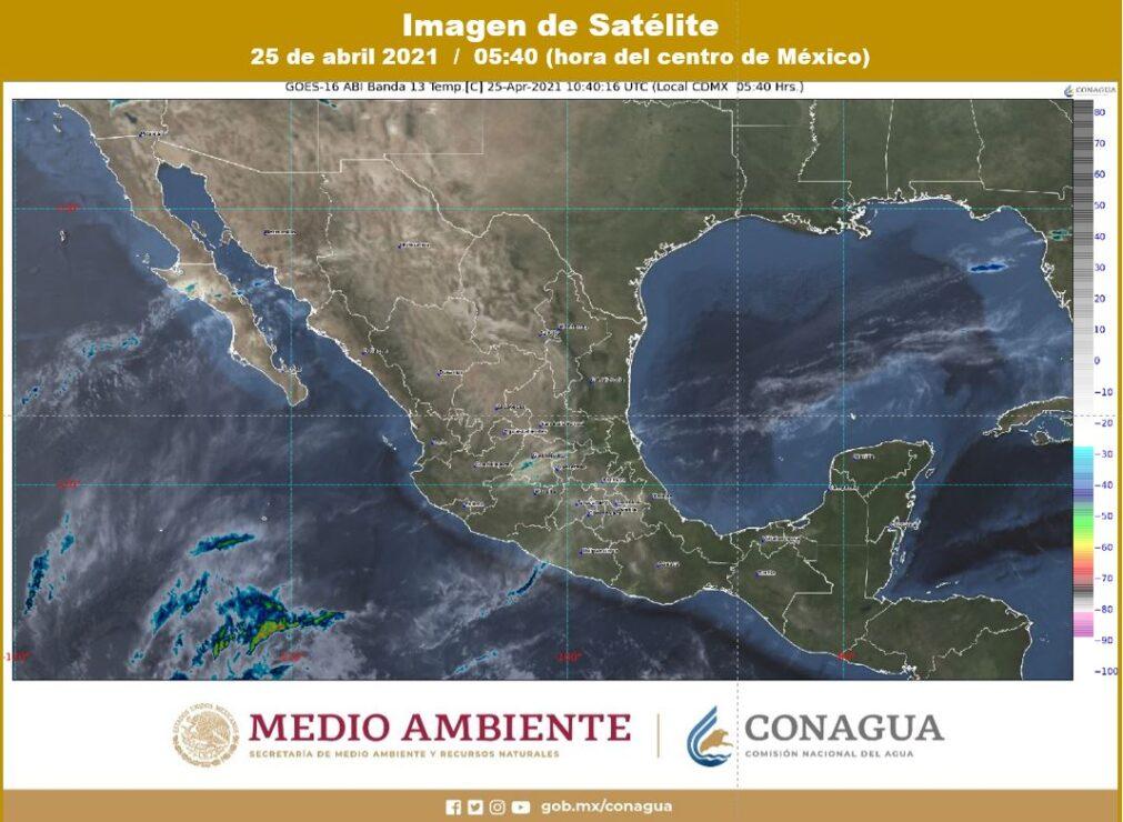Pronóstico del clima para hoy domingo 25 en Quintana Roo; se prevé cielo despejado y continuarán las altas temperaturas.