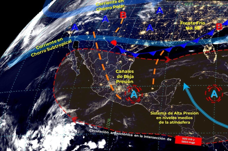Pronóstico del clima para hoy domingo 25 en Quintana Roo.